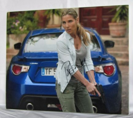 "A567EP ELSA PATAKY - ""FAST & FURIOUS 6"" SIGNED PHOTO"